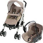 Poussette duo loola full creatis walnut brown pas cher