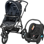 Poussette duo high trek streety black raven 2015 pas cher