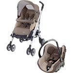 Poussette duo loola full creatis walnut brown 2013 pas cher