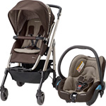 Pack poussette duo loola 3 streety earth brown 2015 pas cher