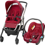 Poussette duo loola 3 streety robin red 2015 pas cher