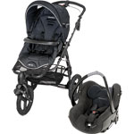 Poussette duo high trek creatis total black 2014 pas cher