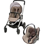 Poussette duo elea creatis walnut brown 2014 pas cher