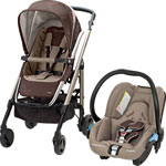 Poussette duo nouvelle loola streety walnut brown 2014 pas cher