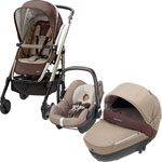 Poussette trio loola windoo pebble walnut brown 2014 pas cher