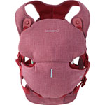 Porte bebe easia pomegranate red pas cher