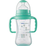 Biberon avec poignees maternity bleu 270 ml pas cher