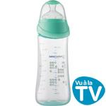 Biberon maternity easy clip bleu 360 ml pas cher