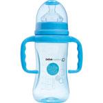 Biberon sans bpa maternity poignees bleu 270 ml pas cher
