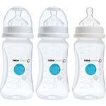 Lot de 3 biberon sans bpa maternity blanc 270 ml pas cher