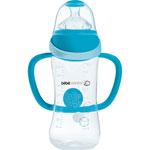 Biberon sans bpa maternity easy clip poignees bleu 270 ml pas cher