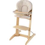 Chaise haute bébé woodline nature spirit pas cher