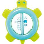 Thermomètre de bain tortue ondes positives bleu pas cher
