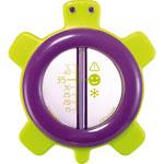Thermomètre de bain tortue ondes positives violet pas cher