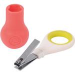 Coupe ongles ergonomiques avec base sweet sorbet rose pas cher