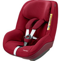 Siège auto 2way pearl i-size robin red