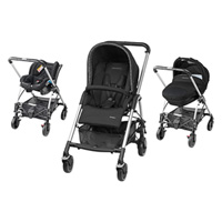 Pack poussette trio streety digital black