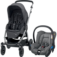 Pack poussette duo stella citi sparkling grey