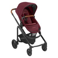 Poussette 4 roues lila cp essential red