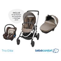 Poussette trio elea earth brown