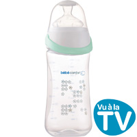 Biberon maternity easy clip blanc 270 ml