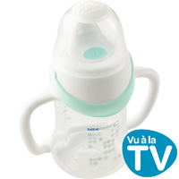 Tasse biberon evolutive maternity pp easy clip blanc 150 ml