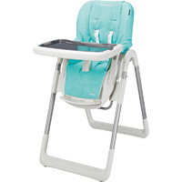 Chaise haute bébé kaleo animals blue