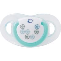 Lot de 2 sucettes silicone maternity dental safe 0/12 mois bleu