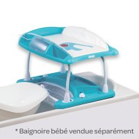 Table à langer duo amplitude bb doux bleu