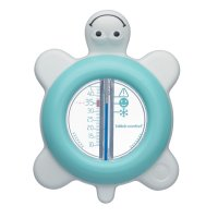 Thermomètre de bain tortue water world bleu