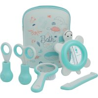 Set de toilette water world bleu