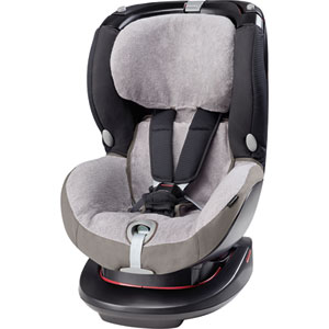 Housse éponge pour siège auto rubi cool grey