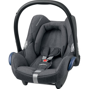 Coque bébé groupe 0+ cabriofix sparkling grey