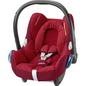 Coque bébé groupe 0+ cosi cabriofix robin red