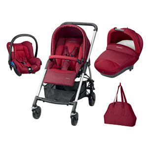Poussette combiné trio streety next robin red 2016