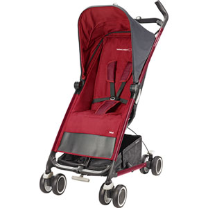 Poussette canne noa robin red