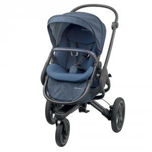 Poussette 3 roues nova nomad blue