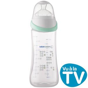 Biberon sans bpa maternity easy clip blanc 360ml