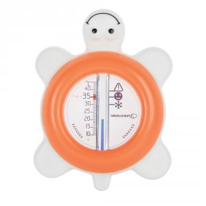 Thermomètre de bain tortue sailor corail