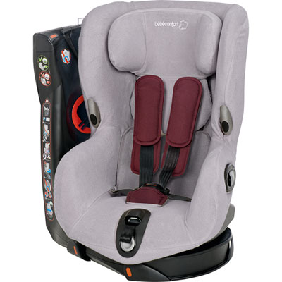 Housse eponge axiss cool grey Bebe confort