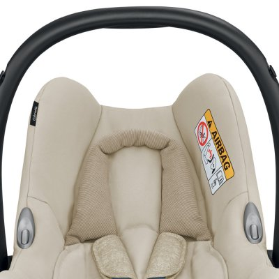 Siège auto coque cabriofix nomad sand - groupe 0+ Bebe confort