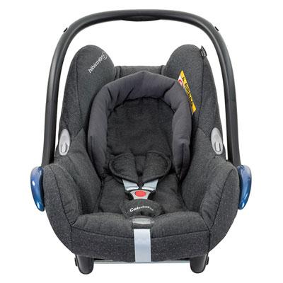 Siège auto coque cabriofix sparkling grey - groupe 0+ Bebe confort