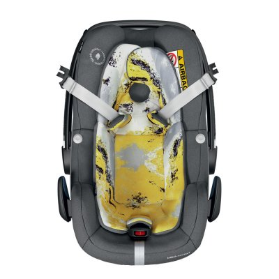 Siègau auto coque pebble plus i-size urban yellow - groupe 0+ Bebe confort