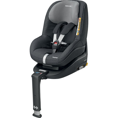 Pack siège auto 2way pearl i-size avec embase black crystal Bebe confort