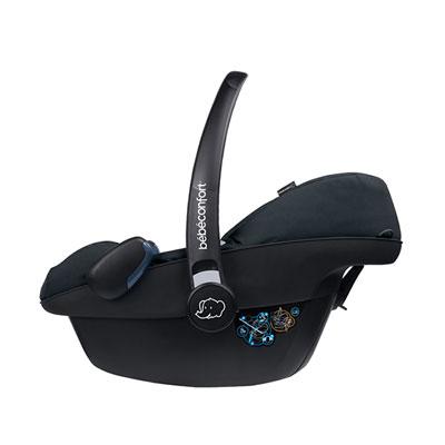 Siège auto coque pebble plus i-size black raven - groupe 0+ Bebe confort