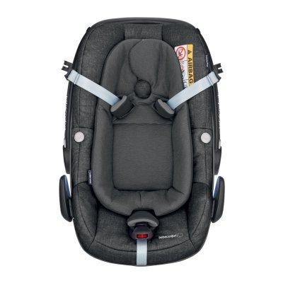 Siège auto coque pebble plus i-size nomad black groupe 0+ Bebe confort