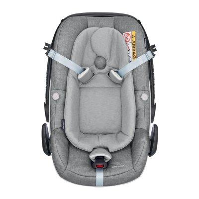 Siège auto coque pebble plus -size nomad grey groupe 0+ Bebe confort