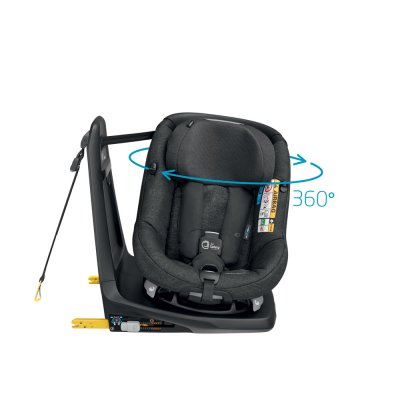 Siège auto axissfix air i-size nomad black Bebe confort