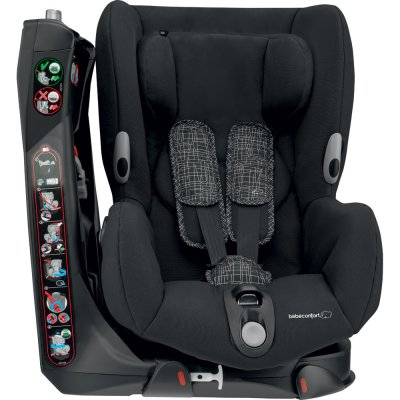 Siège auto axiss black grid - groupe 1 Bebe confort