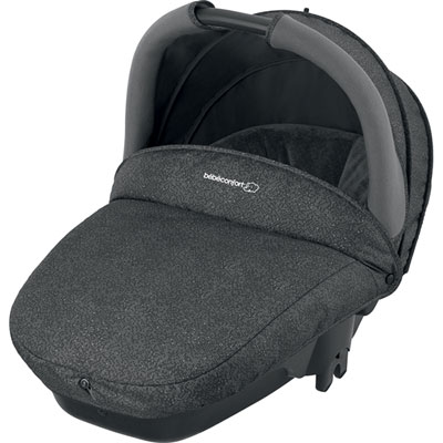 Pack poussette trio stella cabriofix compacte triangle black Bebe confort